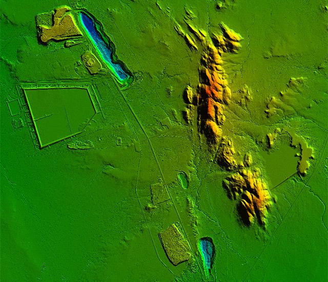 Lidar topographique