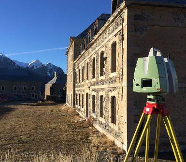 Entreprise topographie - Sintégra géomètre-expert - LiDAR terrestre