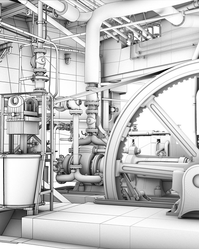 3D modeling services architecture