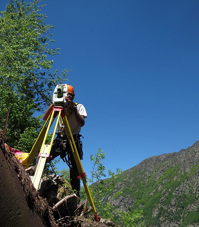 Expertise Topographic surveying and mapping company