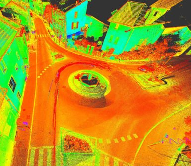 Topographic survey company - Sintegra chartered land surveyors - Mobile mapping